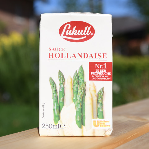 Bäcker's Spargel aus Münster online bestellen · Dazu Lukull Sauce Hollandaise