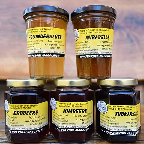 Bäcker's Spargel aus Münster online bestellen · Dazu Bäcker's leckeren Fruchtaufstrich