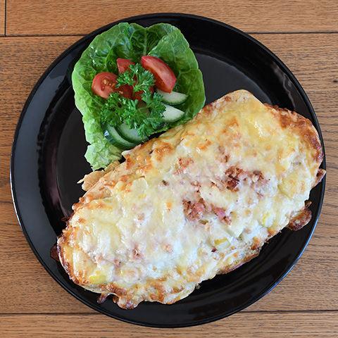 Bäcker´s Spargelpizza